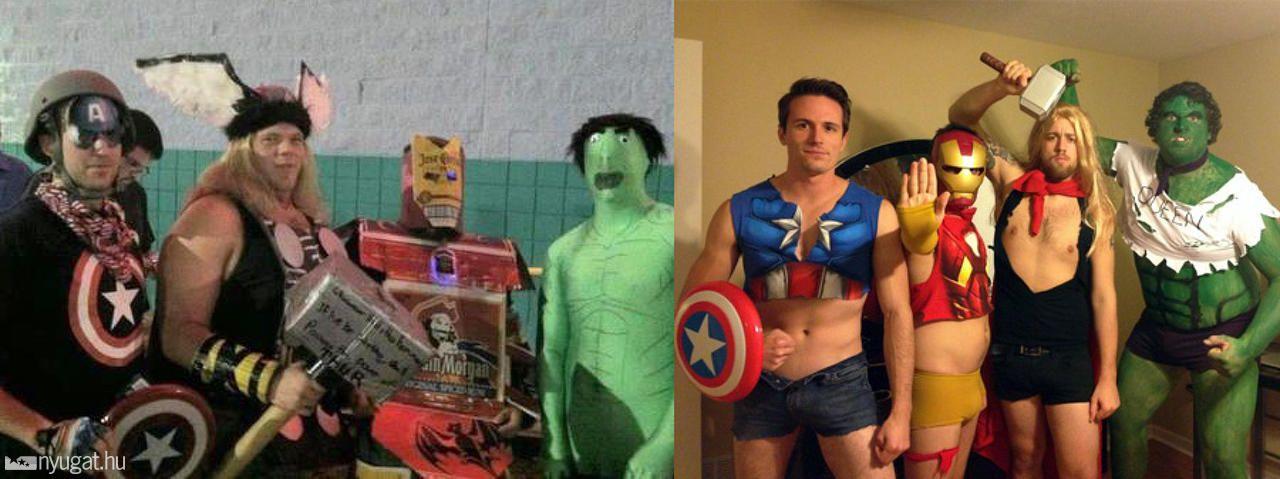 Galéria  Bosszúállók  a baloldali csapat Hulkot nézve a Szezám utcán ... 0383628bfd
