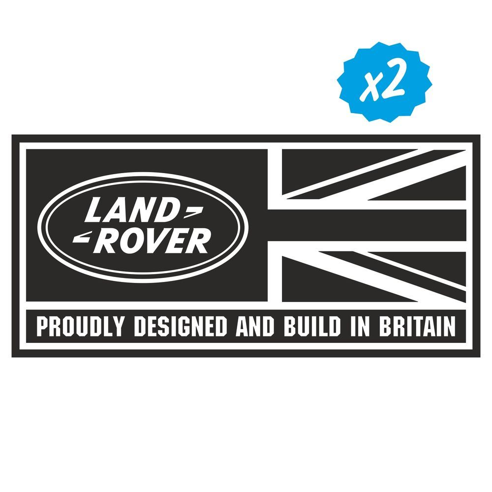 2x Land Rover Defender 90 110 130 Aftermarket Decal Wing Fender Union Jack Land Rover Defender Land Rover Defender 90 [ 1000 x 1000 Pixel ]
