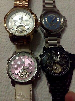 Konvolut - 4 x Armbanduhren - Automatik - Defekt - DD1sparen25