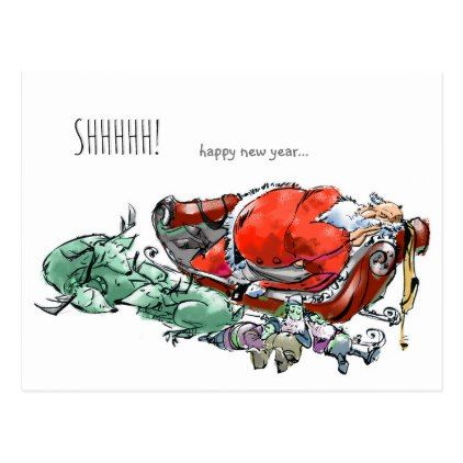 funny New Years Card | New Year\'s Eve | Pinterest