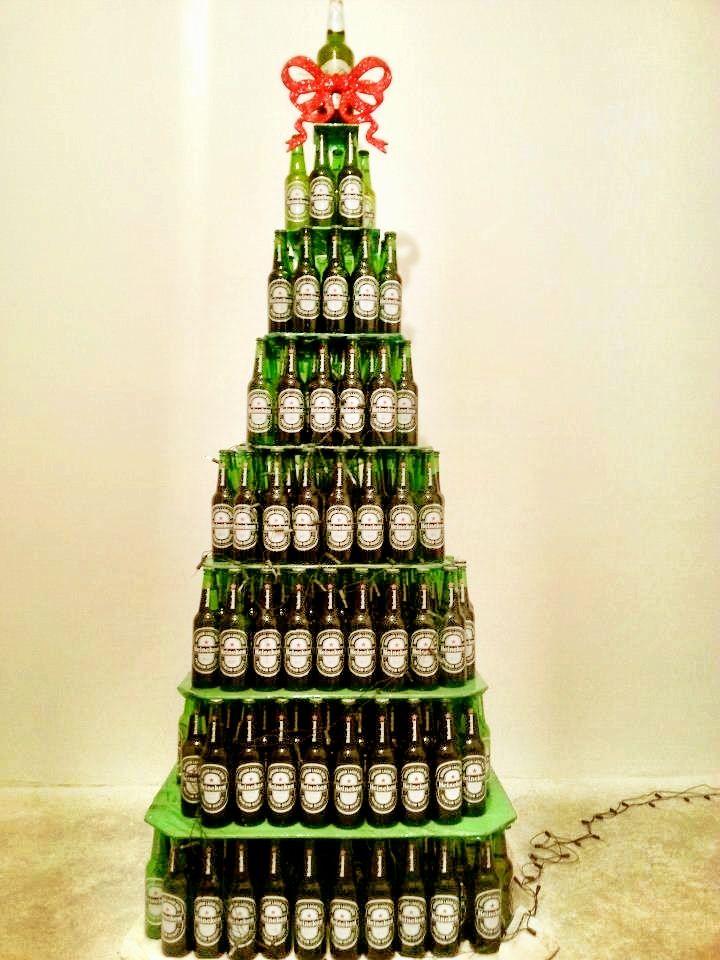 Heineken Feliz Navidad.Heineken Christmas Tree Christmas Tree Creative