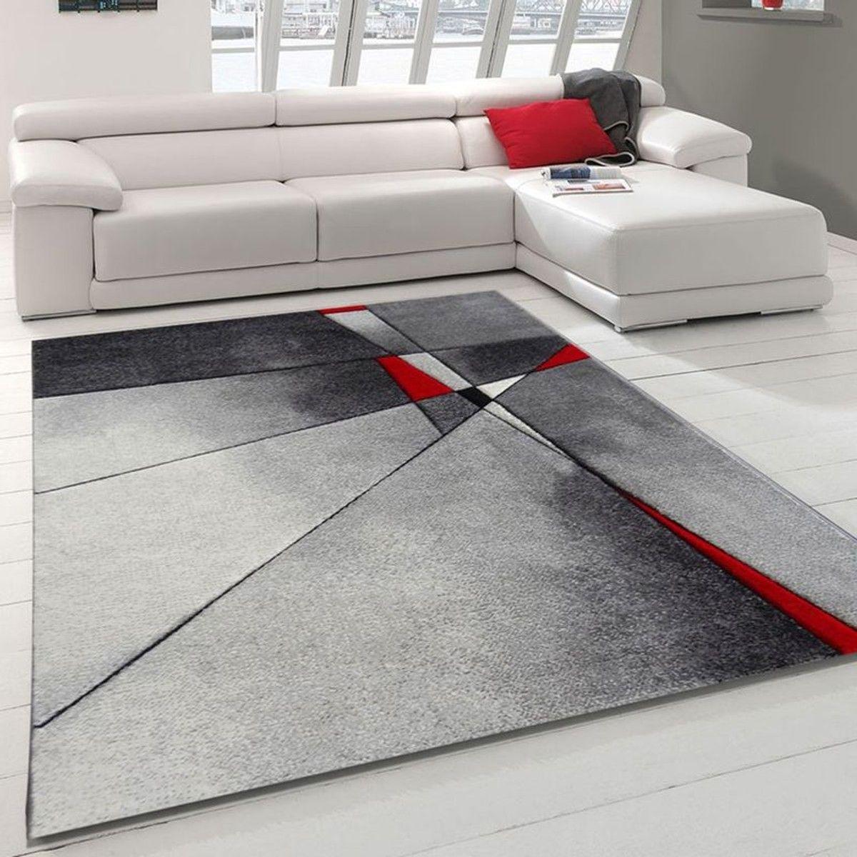 Tapis De Salon Moderne Design Phylo - Polypropylène - Taille ...