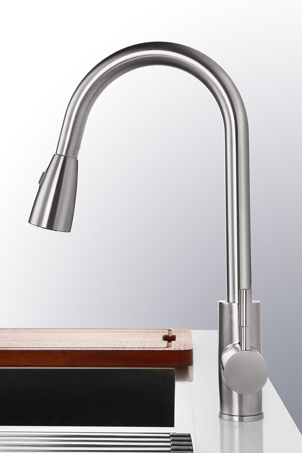Top Rated Pull Down Kitchen Faucets Single Hole In 2020