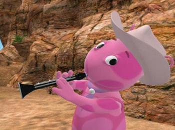 Cowgirl Uniqua   Nick Jr   Clarinet, Kids videos, Fandoms