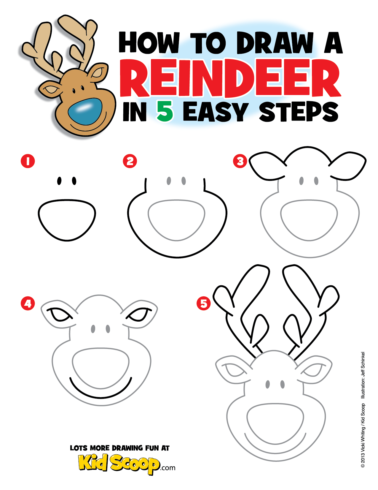 Use this step by step guide with your child or students