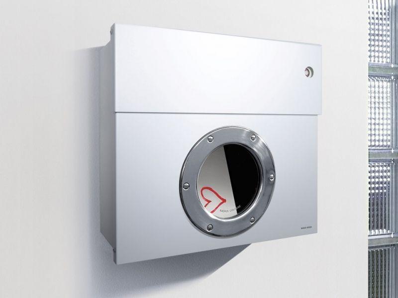 Briefkasten Lettermann radius design briefkasten letterman 1 weiß kaufen im borono