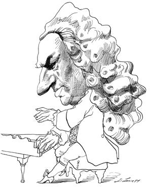 Johann Sebastian Bach | Ilustração, Cantores, Padre fabio de melo