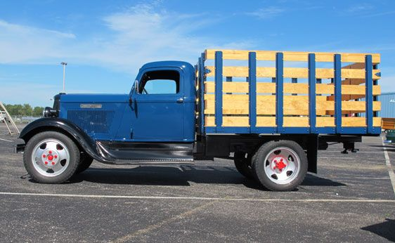 1935 Dodge Brothers 1-1/2 Ton Stake Bed Truck