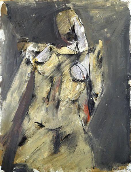 'Torso' (1948) Jack Tworkov 1900 – 82
