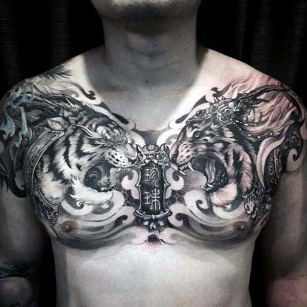 50 Best Tattoo Ideas In 2020 Tattoo Designs And Inspiration Full Chest Tattoos Cool Chest Tattoos Chest Tattoo Men