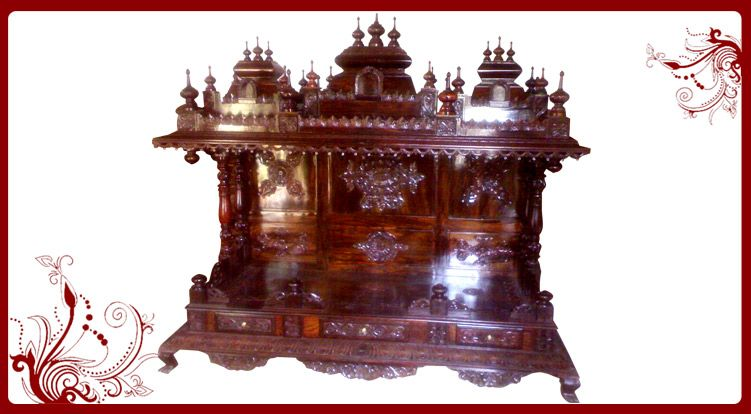 Wood Temple Wooden Temple Designs For Home Pooja Mandir Mandir Pinterest Temple Woods