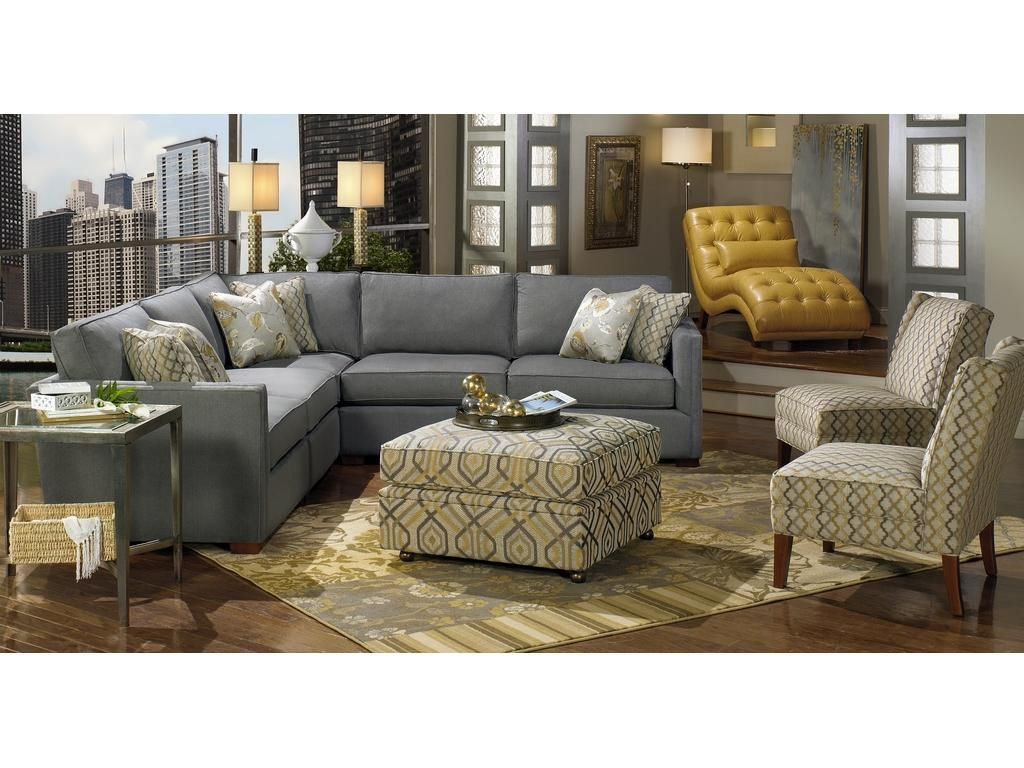 Bhg Living Room Design Ideas. Better Homes and Gardens by Craftmaster Living Room Sectional B8280BD Sect  CraftMaster Hiddenite