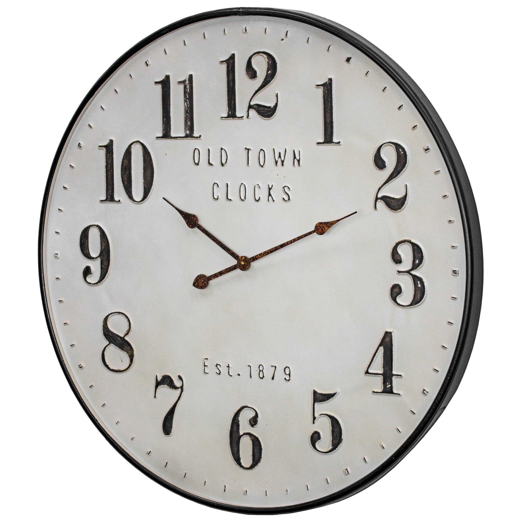 Online Shopping Bedding Furniture Electronics Jewelry Clothing More In 2020 Wall Clock Old Town Clock Metal Wall Clock