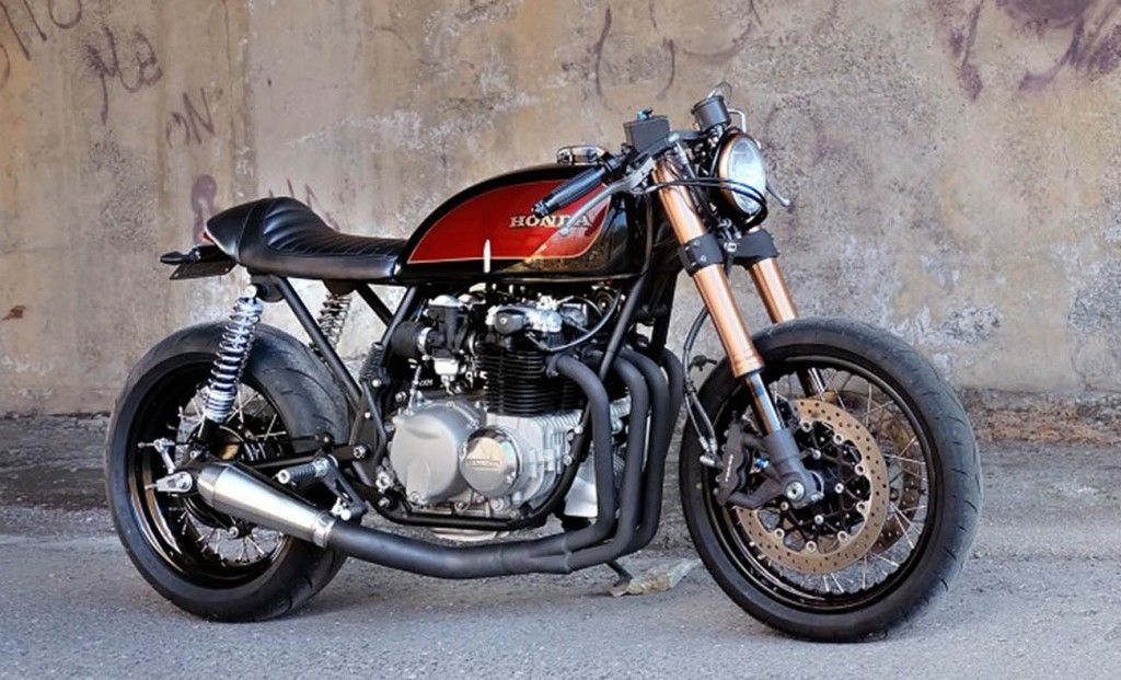 best 20 honda cafe racers of 2015 (cx500, cb750, cb750f & more