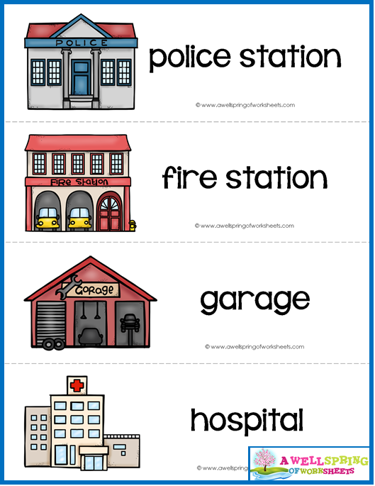 Community Helpers Vocabulary Cards | Social Studies ...