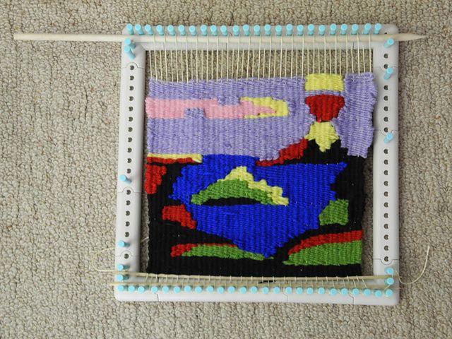 Ravelry: misha-n\'s tropical-tapestry on the Martha Stewart Loom ...