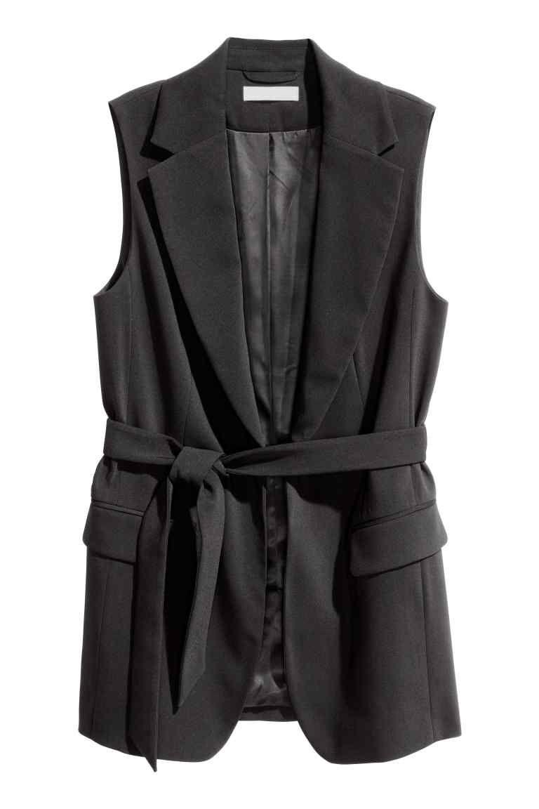 Blazer sans manches - Noir - FEMME | H&M FR