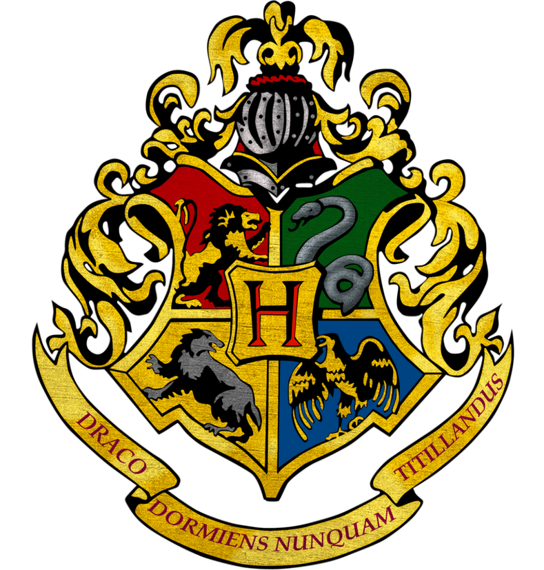 DIY de dessin Harry Potter (logo de Poudlard