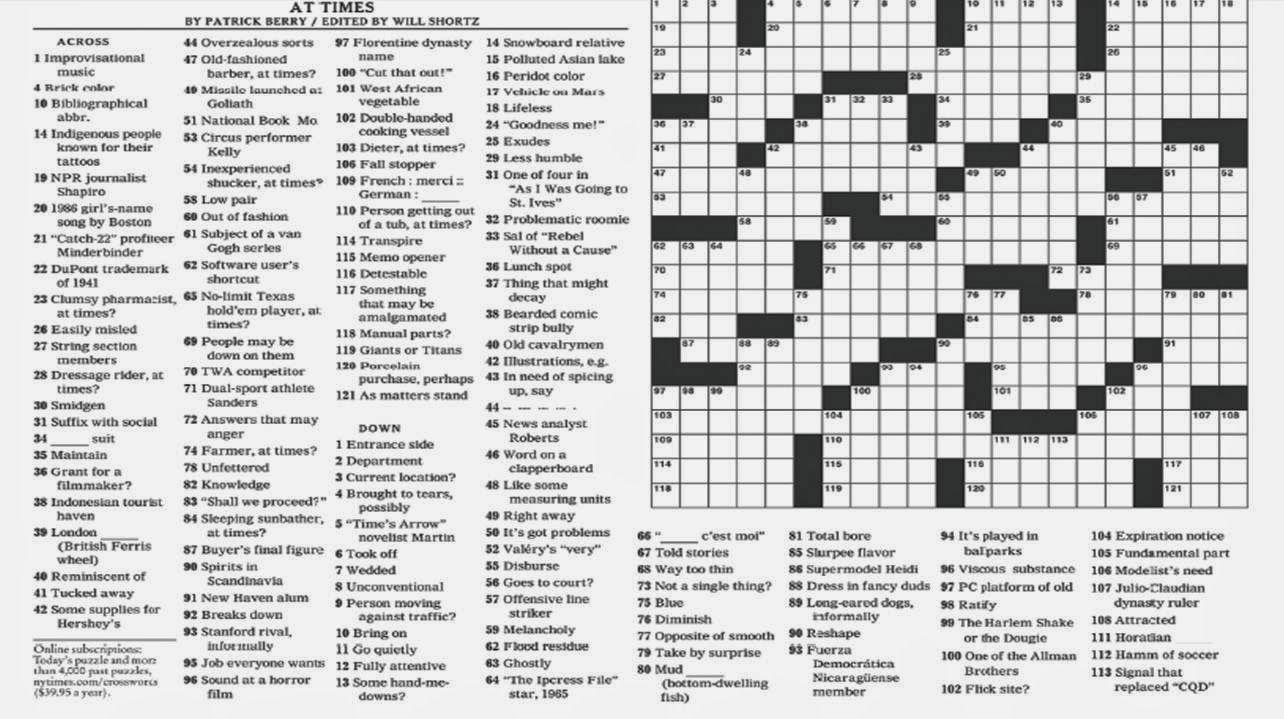 Printable Sunday Crossword Puzzles New York Times Printable Crossword Puzzles Printable Crossword Puzzles Crossword Puzzles Crossword
