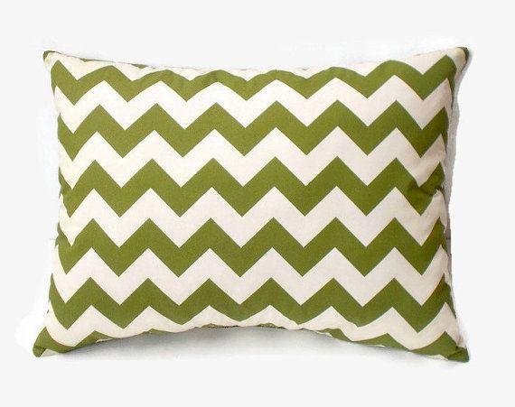 Cream Apple Green Chevron Decorative Pillow Decorative Pillow Fascinating Apple Green Decorative Pillows