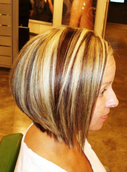 REALLY makes me rethink growing my hair out!!!  highlights and lowlights