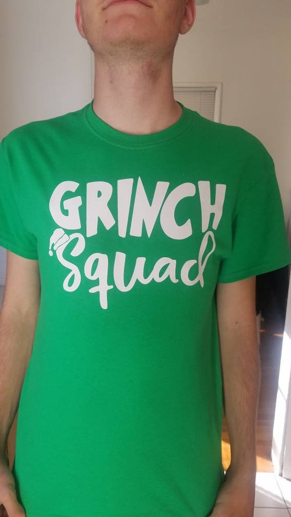 06a01702169237 Grinch Squad T-shirt! Perfect for Christmas! Buy one for yourself and a  friend! Great Gift Idea. Buy