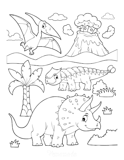 Gallery 128 Best Dinosaur Coloring Pages   Free Printables for Kids is free HD wallpaper.