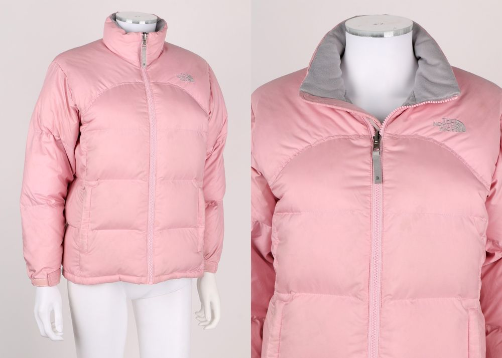 The North Face Girls Quot 600 Quot Light Pink Down Puffer Jacket