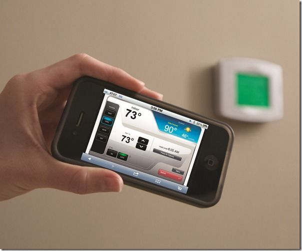 On The Go All The Time Consider A Honeywell Wifi Thermostat Not