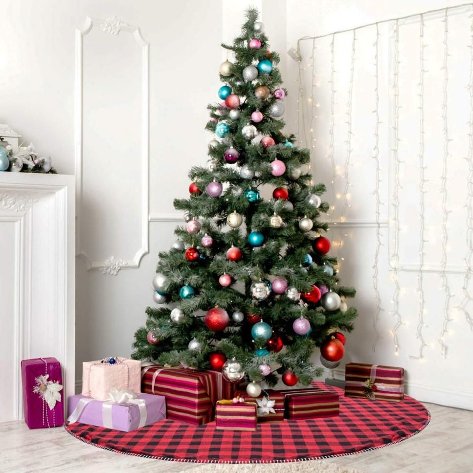 TopRated Christmas Tree Skirts and Tree Collars Under 50