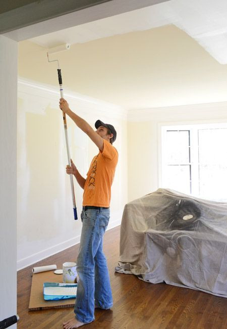 Step By Tutorial Of How We Paint A Room Plus Video