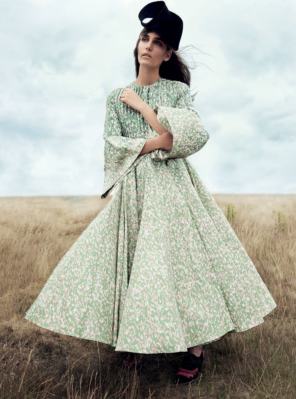 Zuzanna Bijoch by Regan Cameron for Harper's Bazaar UK november 2015