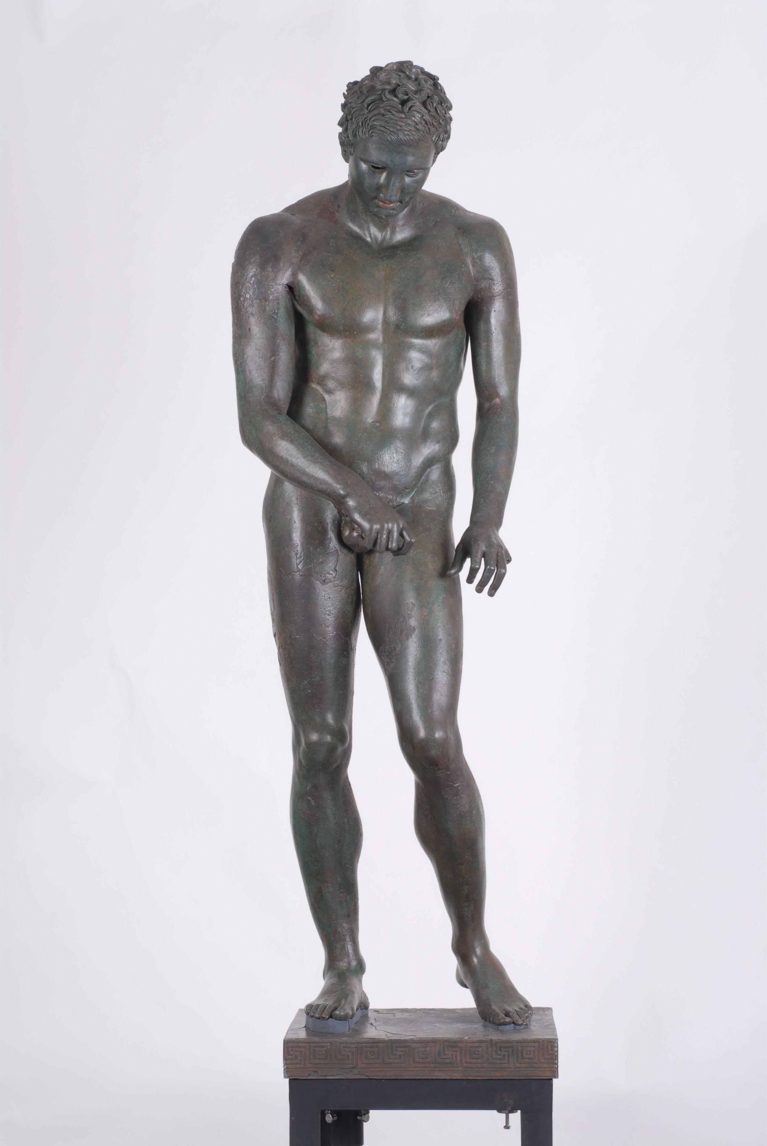 The fantastic ancient Greek sculpture of Apoxiomen ( Croatian ...