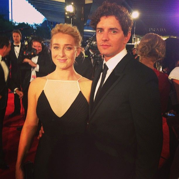 Asher Keddie & partner - Photo by who_magazine