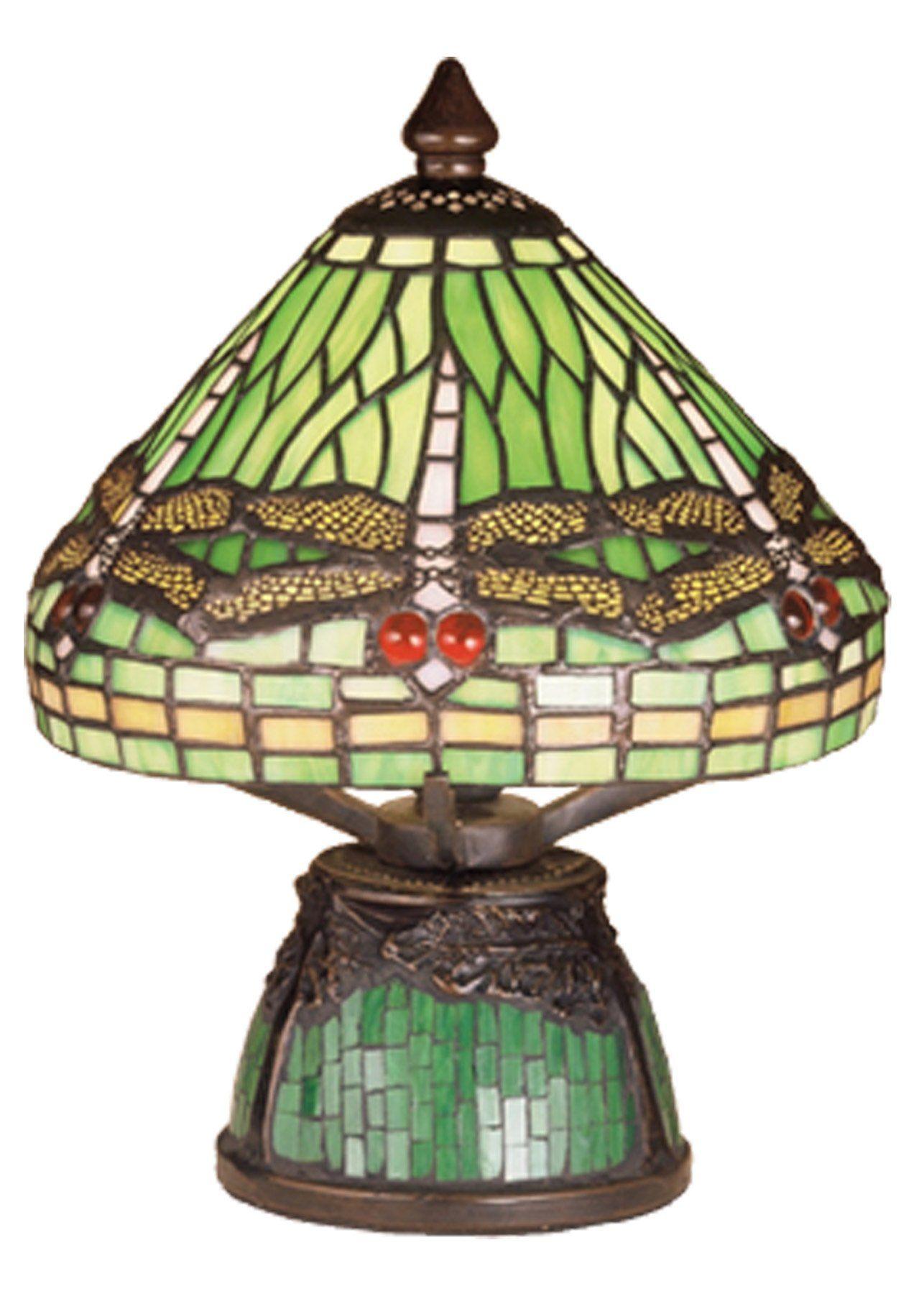 Meyda Lighting 47609 10 5 H Tiffany Dragonfly W Tiffany Mosaic