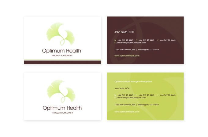 Optimum health homeopathy alternative medicine business cards by optimum health homeopathy alternative medicine business cards by cubio cubiodesign reheart Gallery
