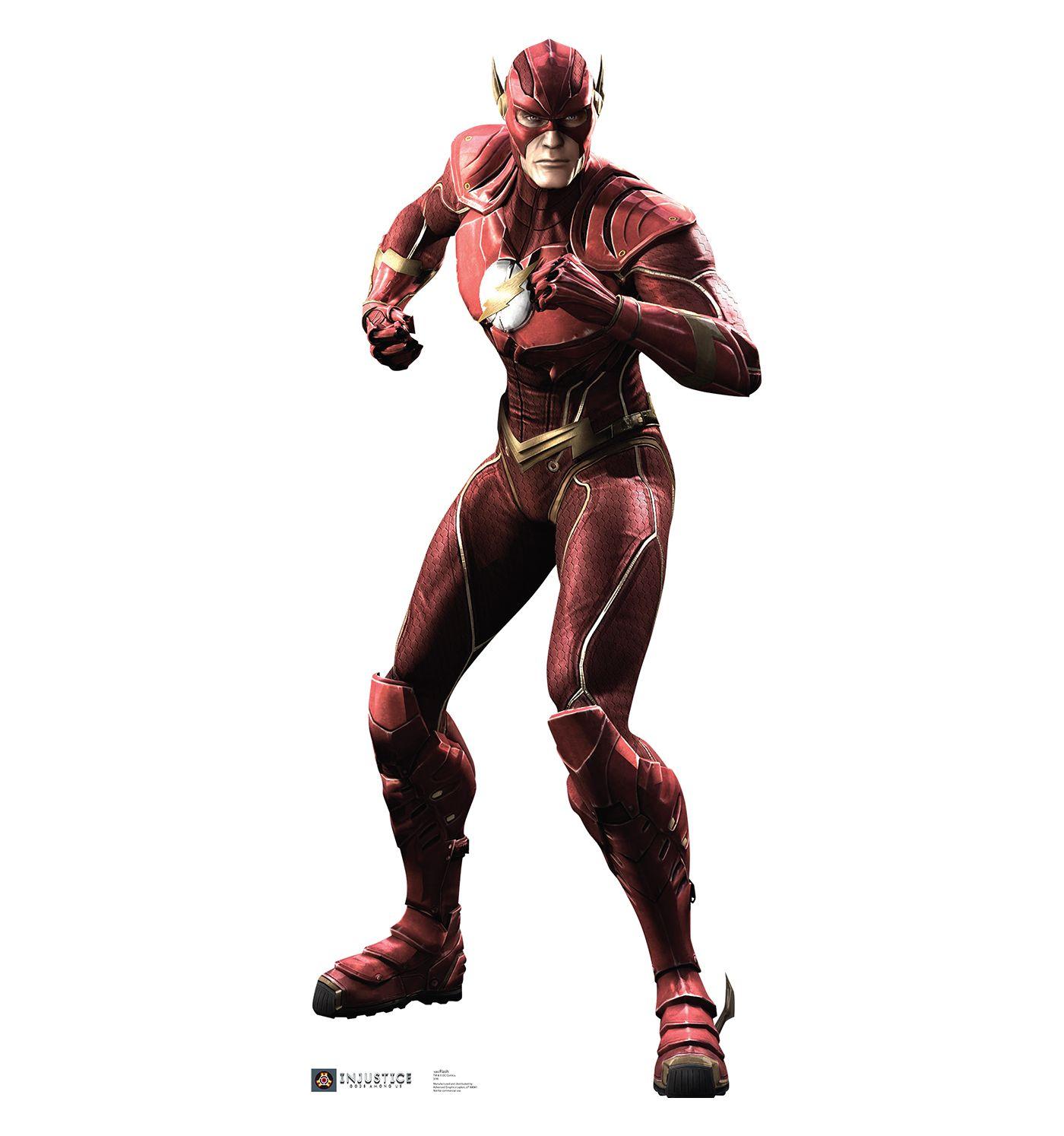 Flash Injustice Gods Among Us Cardboard Cutout Dc Comics Games The Flash Injustice