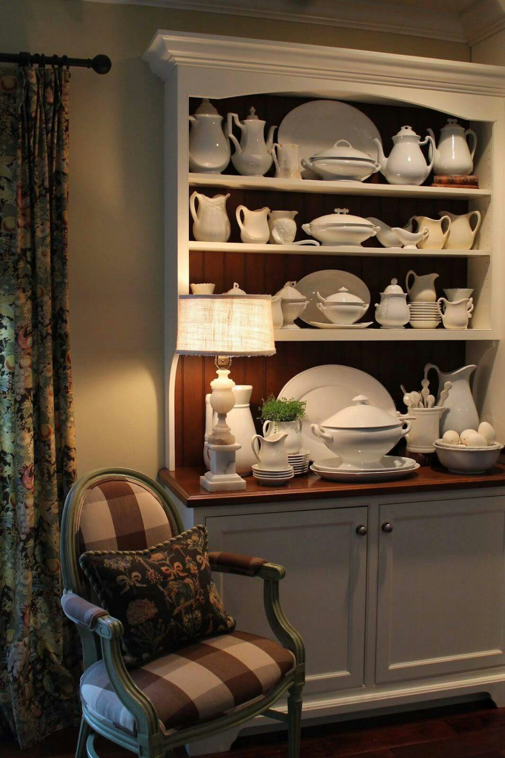 Hutch Decorating Ideas Display French Country
