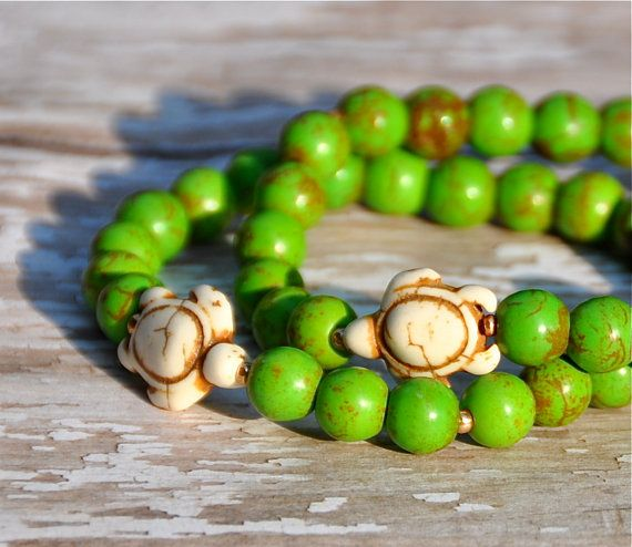 Sea Turtles Bracelet Set