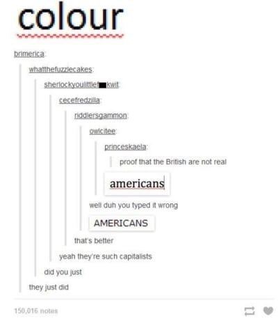 19 Times America And Britain Went Head To Head On Tumblr Funny Tumblr Posts Tumblr Funny Funny Tumblr America