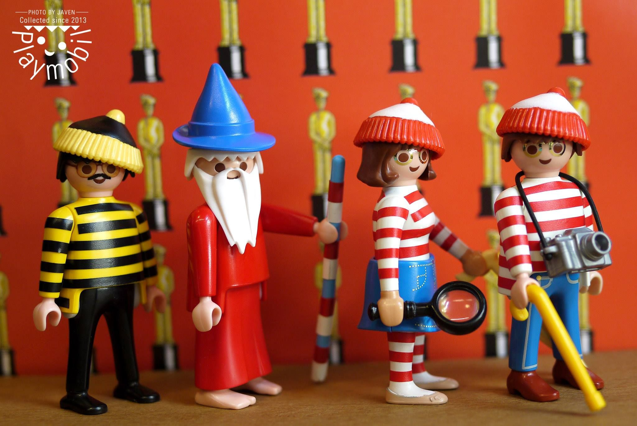 Where's Waldo Custom Playmobil Figues Image only - Links to FB