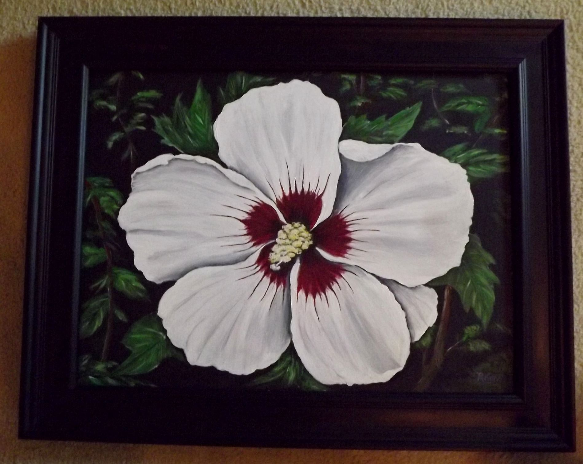 Rose of Sharon by Robert Kelly | Art, Rose of sharon, Painting