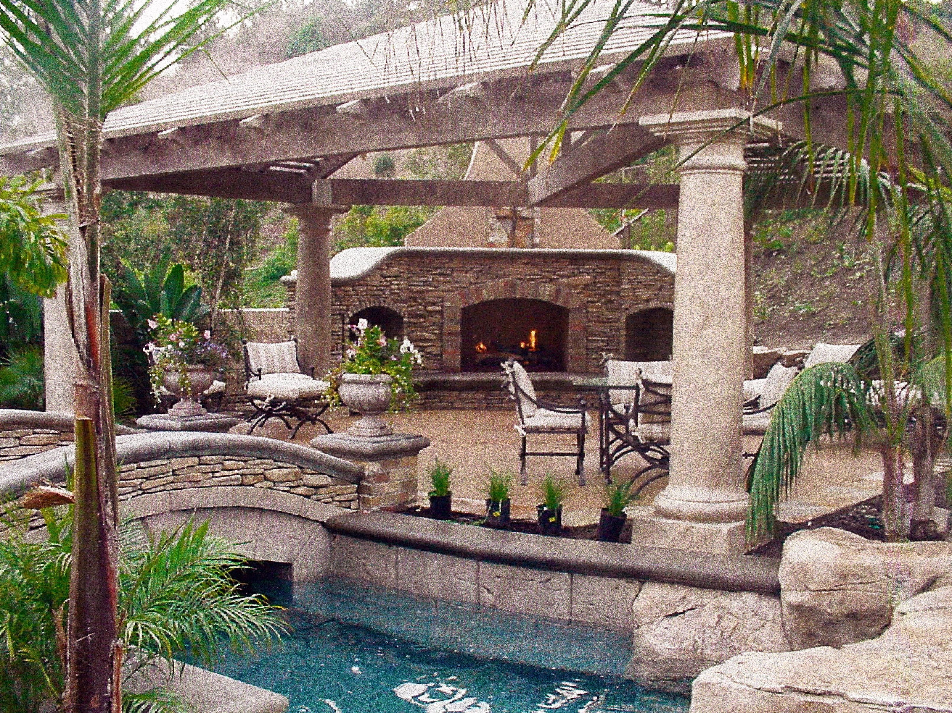 Backyard oasis ideas joy studio design gallery best design for Backyard patio design ideas