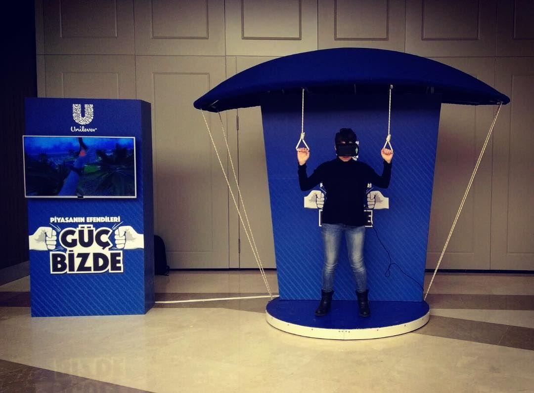 Unilever Parachute VR Game #vr #virtualreality #parachute ...