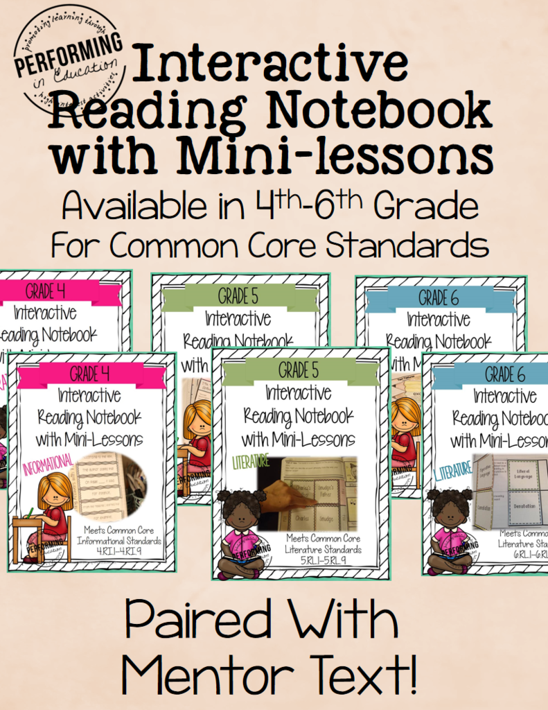 Common Core Reading: Mentor Text + Interactive Lessons = Success! |  Performing in Education