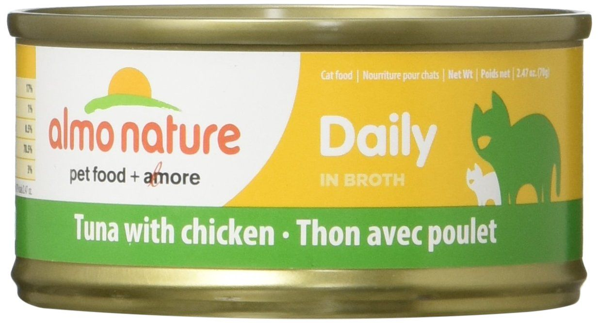 Almo Nature 1602 Daily Cat Tuna With Chicken Pet Food 24 X 70 G 2 47 Oz Continuously The Item At The Image We In 2020 Canned Cat Food Food Animals Natural Cat Food