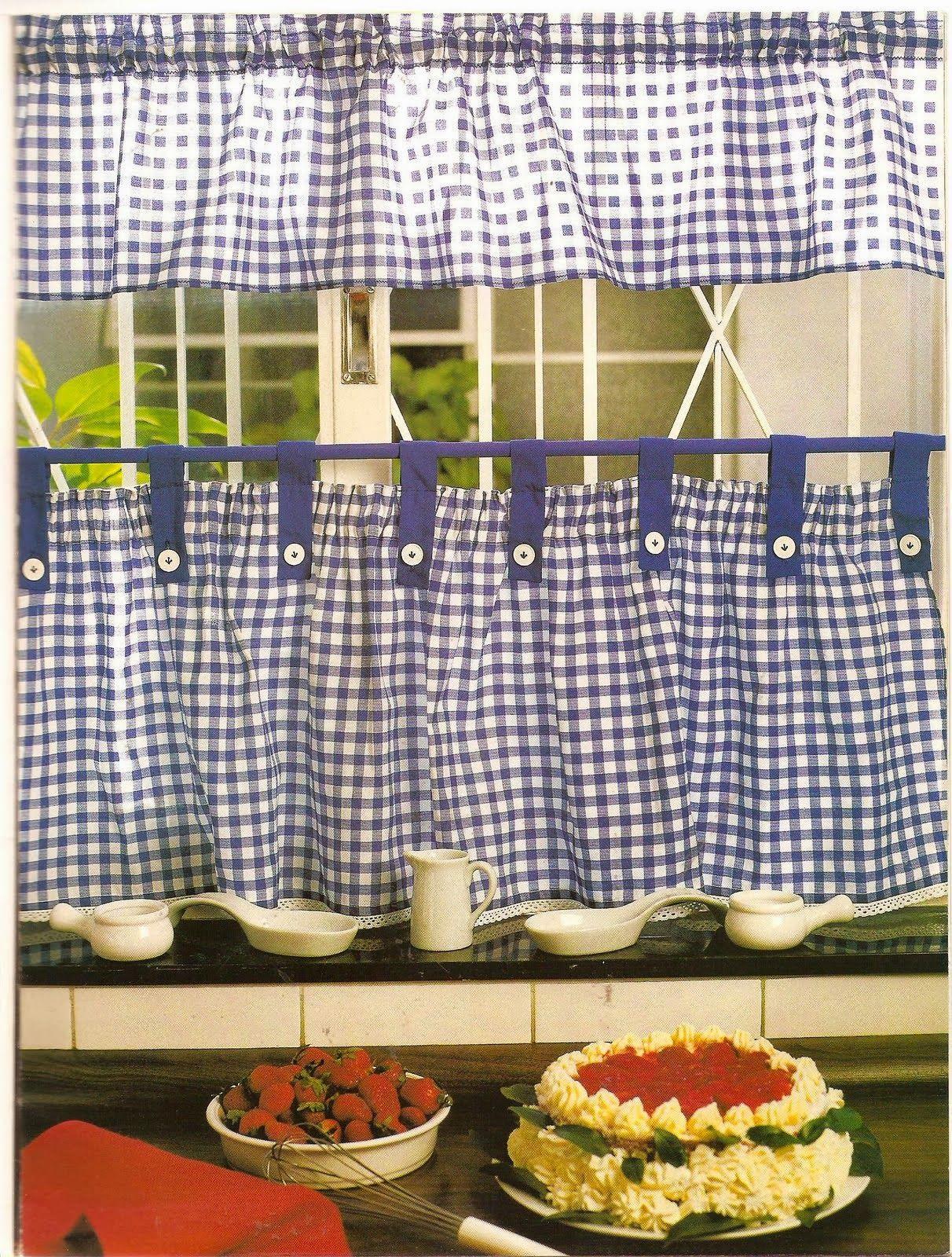 Como hacer cortinas decorar con cortinas pinte - Como hacer visillos ...