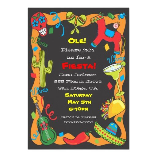 78bc4f119563539ac0315edb5d2fa015 ole! mexican fiesta party invitation best mexican fiesta party,Taco Party Invitations