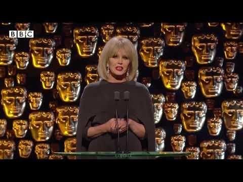 Absolutely Fabulous Joanna Lumley Introducing Baftas