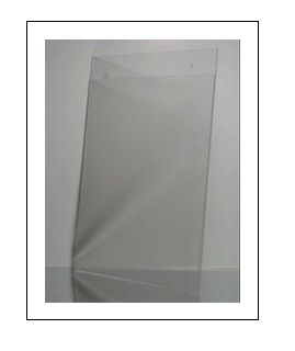 Plastic Wall Mount Sign Holder Wholesale Acrylic Document Holder